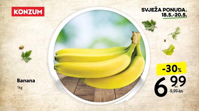 Konzum akcija_ banane