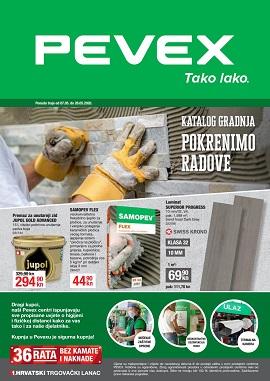 Pevex katalog Gradnja