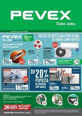 Pevex katalog Klub vjernosti