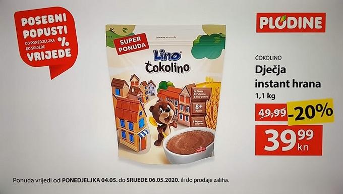 Plodine akcija Čokolino