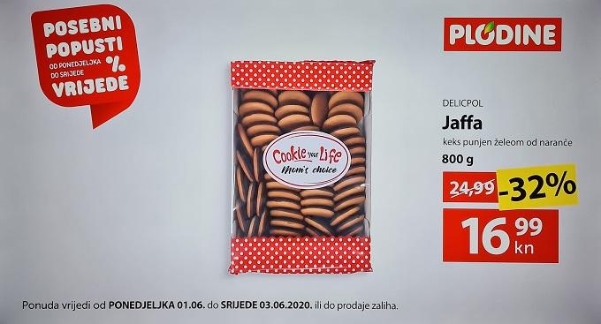 Plodine akcija Jaffa keks