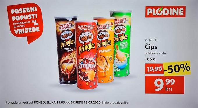 Plodine akcija Pringles
