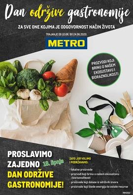 Metro katalog Dan održive gastronomije
