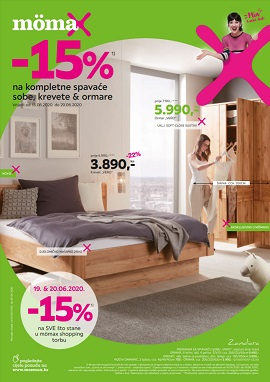 Momax katalog Spavaće sobe