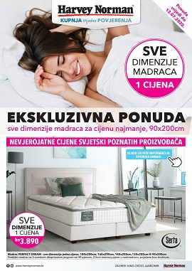 Harvey Norman katalog Madraci