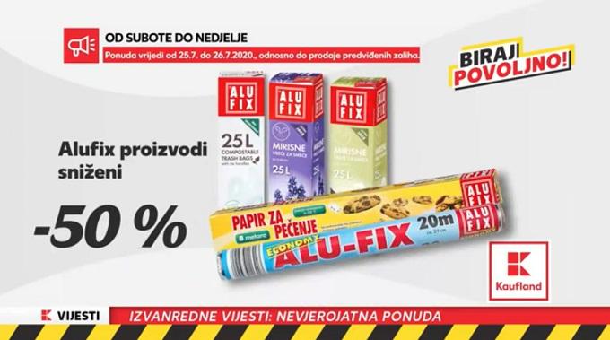 Kaufland akcija alufix proizvodi
