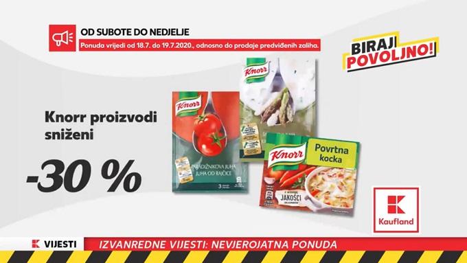 Kaufland akcija Knorr