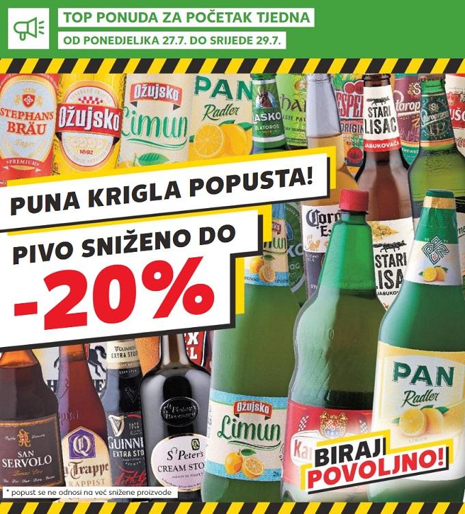 Kaufland akcija pivo