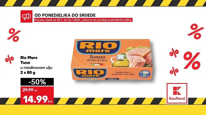 Kaufland akcija Rio mare tuna