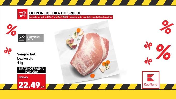 Kaufland akcija svinjski but