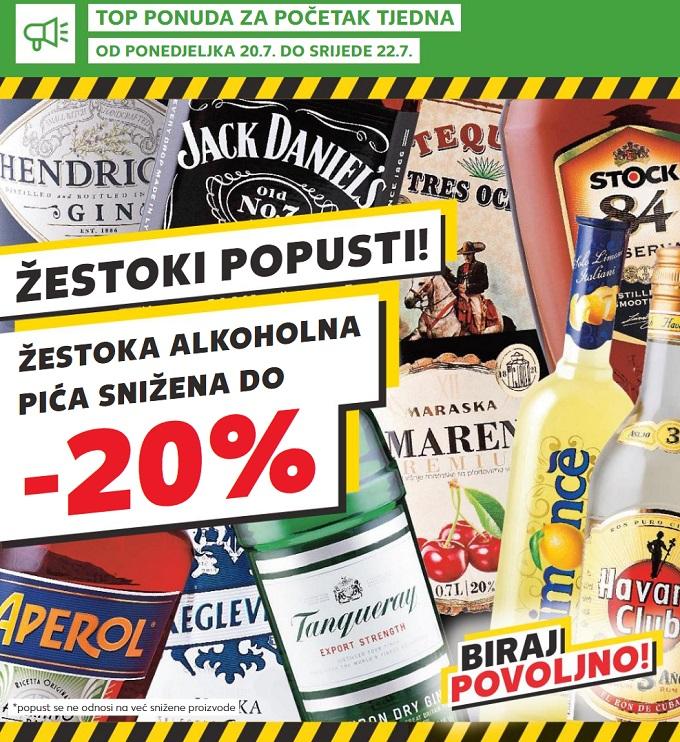 Kaufland akcija žestoka pića