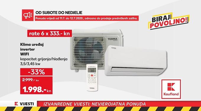 Kaufland vikend akcija klima uređaj