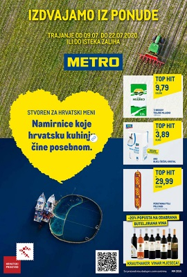 Metro katalog Prehrana posebna ponuda