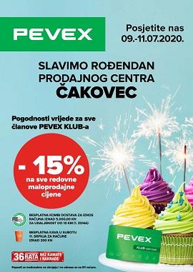 Pevex katalog Čakovec