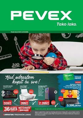 Pevex katalog Škola