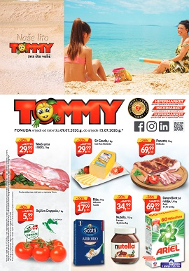 Tommy katalog srpanj