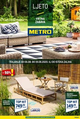 Metro katalog Vrtna zabava Zagreb