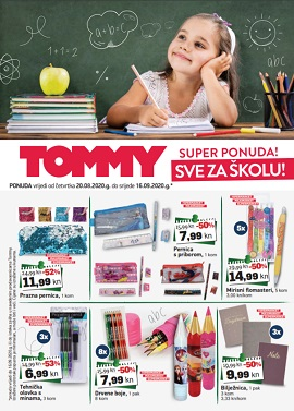 Tommy katalog Škola 2020