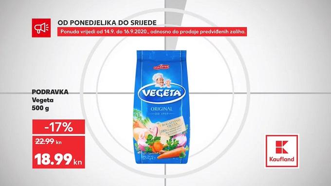 Kaufland akcija Vegeta