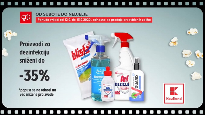 Kaufland vikend proizvodi za dezinfekciju