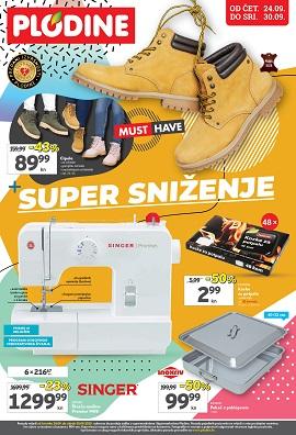 Plodine katalog Super sniženje do 30.9.