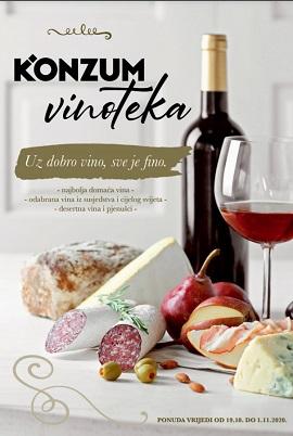 Konzum katalog Vinoteka listopad 2020