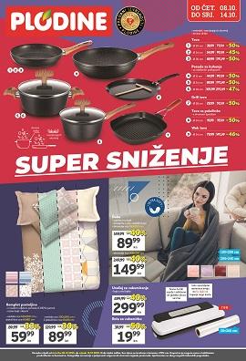 Plodine katalog Super sniženje do 14.10.