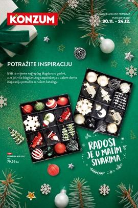 Konzum katalog Božićni ukrasi 2020