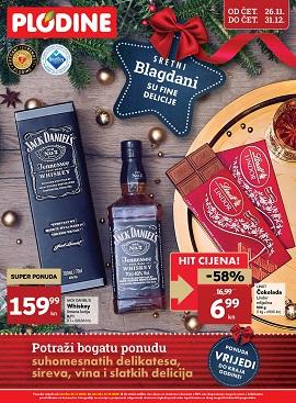 Plodine katalog Blagdanske delicije do 31.12.