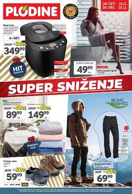Plodine katalog Super sniženje do 25.11.
