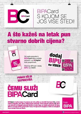 Bipa katalog BipaCard do 31.3.