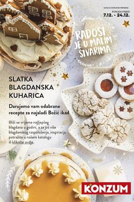 Konzum katalog Slatka blagdanska kuharica