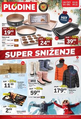 Plodine katalog Super sniženje do 9.12.