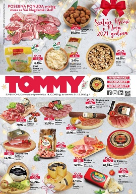 Tommy katalog Božić 2020