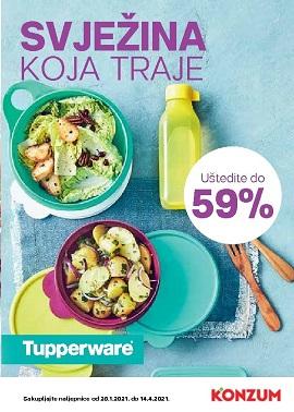 Konzum katalog Tupperware
