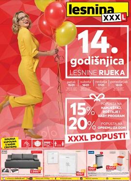 Lesnina katalog XXXL popusti