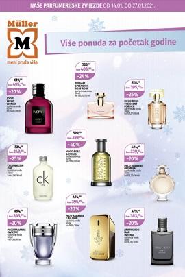 Muller katalog parfumerija do 27.1.