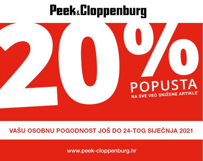 Peek & Cloppenburg popust