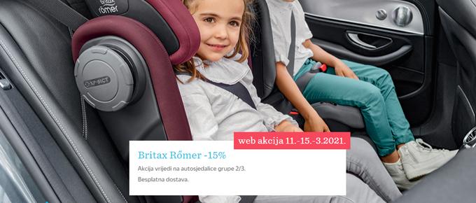 Baby Center webshop akcija 15 posto popusta na autosjedalice