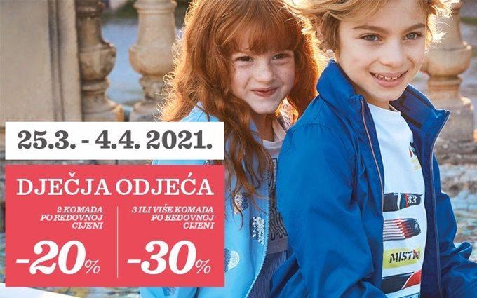 Baby Center webshop akcija dječja odjeća i obuća