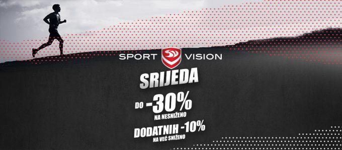 Sport Vision webshop akcija za srijedu 31.03.