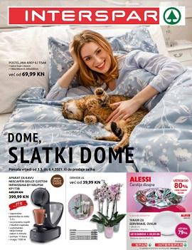 Interspar katalog Dome, slatki dome