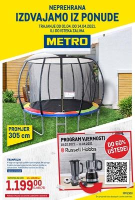 Metro katalog neprehrana Zagreb