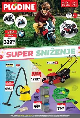Plodine katalog Super sniženje do 17.3.