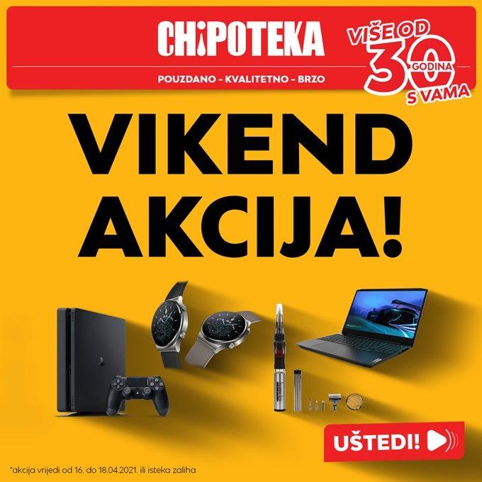 Chipoteka webshop akcija za vikend do 18.04.
