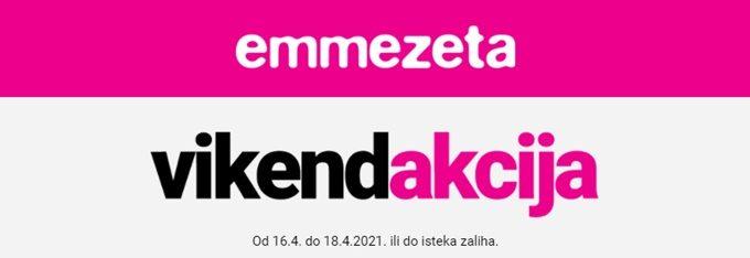 Emmezeta webshop akcija za vikend do 18.04