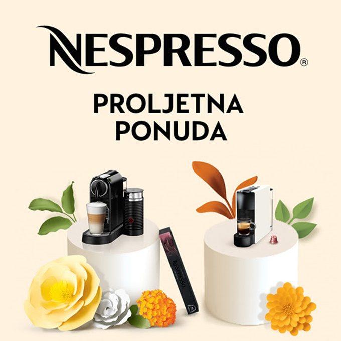 Harvey Norman webshop akcija Nespresso proljetna ponuda