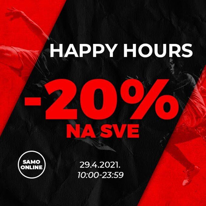 Sport Vision webshop akcija Happy hours 29.04.