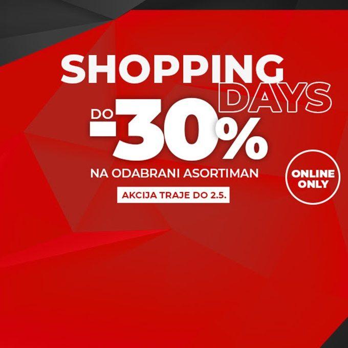 Sport Vision webshop akcija Shopping days