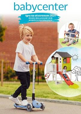 Baby Center katalog Igra na otvorenom